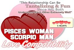 Pisces and Scorpio