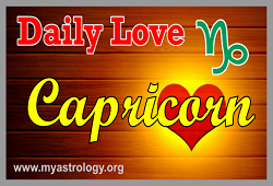 Daily Love Horoscope Capricorn