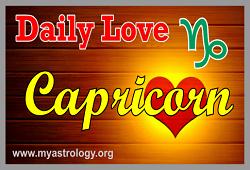 Daily Love Horoscope Capricorn