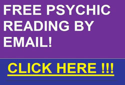 Free Psychic Reading by Email