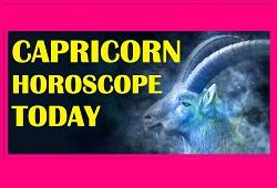 Horoscope Capricorn Today
